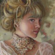 Victorian Beauty Art Print