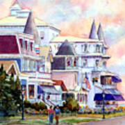 Victorian Cape May New Jersey Art Print