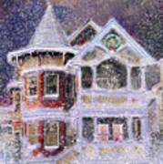 Victorian Christmas Art Print