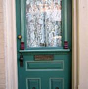 Victorian Door Art Print