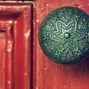 Victorian Door Handle Art Print