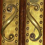 Victorian Door Pulls Art Print