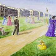 Victorian Filey Art Print