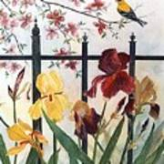 Victorian Garden Print by Ben Kiger