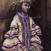 Victorian Girl Art Print