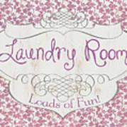 Victorian Laundry Room Art Print