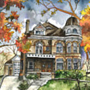 Victorian Mansion Art Print
