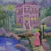 Victorian Romance 1 Art Print