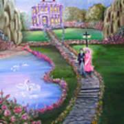 Victorian Romance 2 Art Print