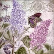 Victorian Romance II Art Print