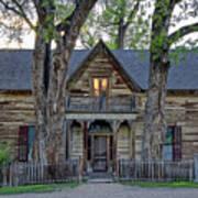 Victorian Sedman House In Montana State Art Print