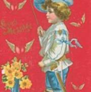 Victorian Valentine Art Print