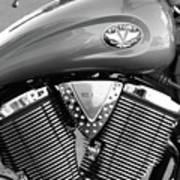 Victory Motorcycle Virginia City Nv Art Print