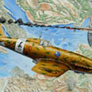 Victory Over Malta Art Print