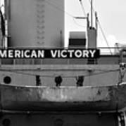 Victory Ship Art Print