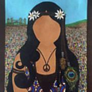 Vidas Pasadas, Woodstock 1969 Art Print
