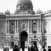 Vienna Austria - Imperial Palace - C 1902 Art Print