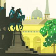 Vienna Art Print by Georgia Fowler