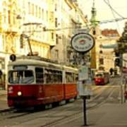 Vienna Streetcar Art Print