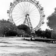 Viennese Giant Wheel Art Print