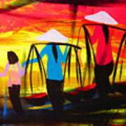 Vietnamese Women V2 Art Print