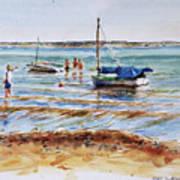 View Across Provincetown Harbor Art Print