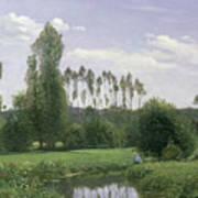 View At Rouelles Art Print