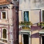 View From A Venetian Window Art Print