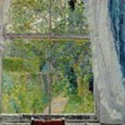 View From A Window Print by Spencer Frederick Gore