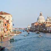 View From Accademia Bridge Art Print