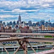 View From Brooklyn Bridge Art Print