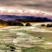 View From Ecola II Art Print