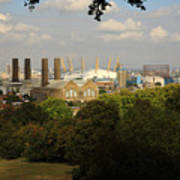 View From Greenwich Park Art Print