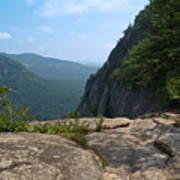 View From Hickory Nut Gorge Nc Art Print