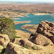 View From Mt Scott Art Print