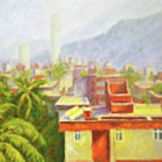 View From Our Balcony Art Print