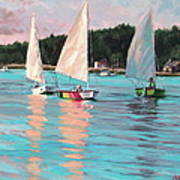 View From Rich's Boat Art Print