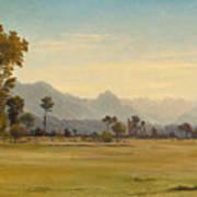 View From Schoenbuehl Toward The Vitznauerstock Art Print