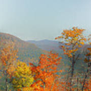 View From Sunday River Art Print
