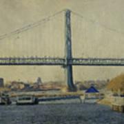 View From The Battleship Art Print by Trish Tritz