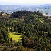 View From The Griffith Observatory 0792 Art Print