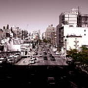View From The Highline Art Print
