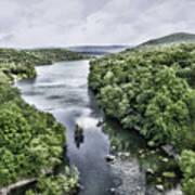 View From The Monksville Bridge Art Print