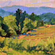 View From The Orchard Art Print