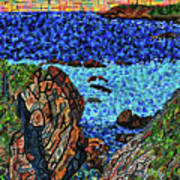 View From The Pacific Coast Highway Art Print