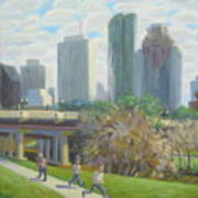 View From The Skate Board Park Art Print