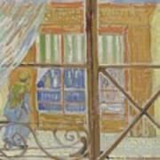 View Of A Butcher S Shop Arles, February 1888 Vincent Van Gogh 1853  1890 Art Print