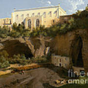 View Of A Villa, Pizzofalcone, Naples Art Print