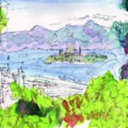 View Of Alcatraz Art Print