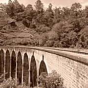 View Of Ancient Bridge Art Print